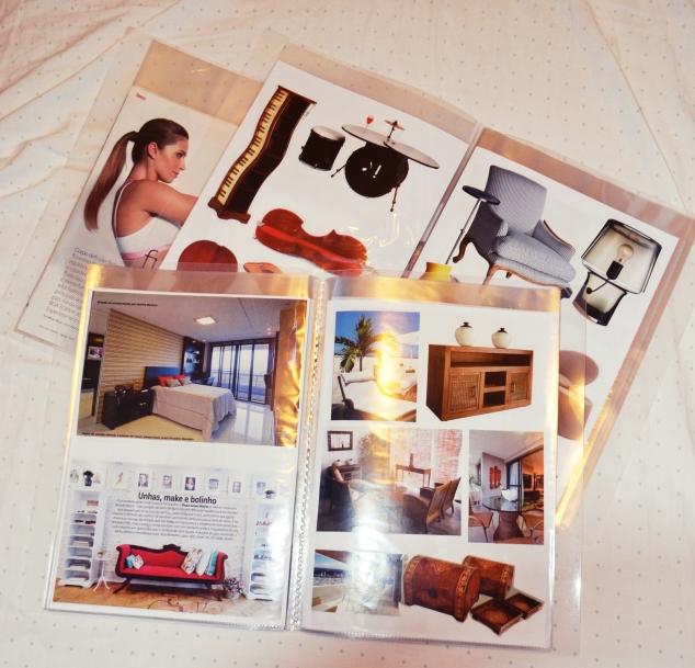 Aqui os catálogos de Fitness, Ambientes prontos e de móveis.