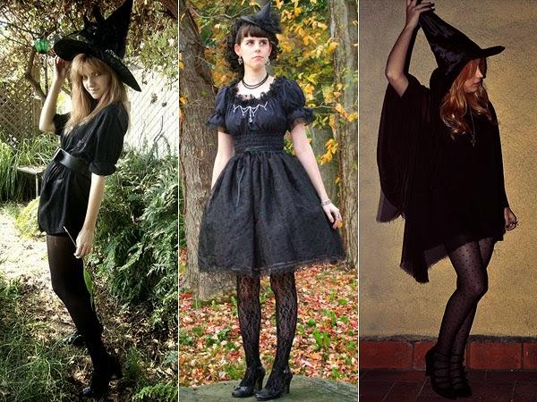 As clássicas bruxinhas - Combina com alguma maquiagem das que coloquei lá em cima.